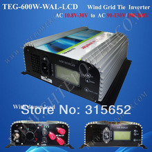 3 Phase 600W On Grid Inverter With Dump Load for Wind Turbine System AC 10.8V-30V Input(China)