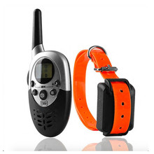 Waterproof Rechargeable 1000M Dog Training Collar Remote LCD Pet Dogs Electric Shock Training Collar for 1 Or 2 Dogs(China)