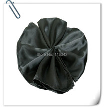 Big Discount !!!! 2015 New Style Satin Carter napkin for wedding  Black Napkin Free Shipping
