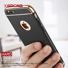 Buy Luxury 360 Degree Protective Cases iPhone X 6 8 7 Plus Case Plating Shockproof Full Cover iphone 7 6s 8 Plus Phone Case for $2.74 in AliExpress store