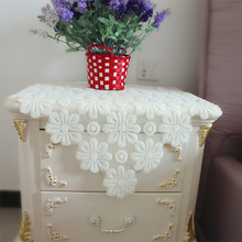 New Fashion Hot Sale Simple Lace Table Cloth Sofa Table Cover Banquet Home Party Coffee Table Cloth Hotel Restaurant Tablecloths