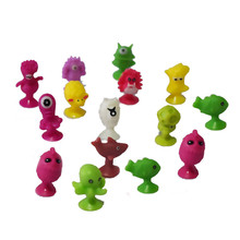 (20 PCS/LOT) Mini monster Action Figures baby Toys Mini animals Model puppets Sucker toy Model kids child Suction Cup toys gifts