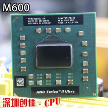 original AMD Turion II Ultra Dual-Core Mobile M600 TMM600DBO23GQ 2.4G 2M M620 cpu latop processor free shipping
