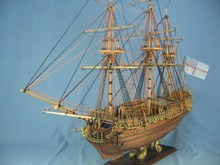 NIDALE model Sacle1/50 British silk-stocking Royal yacht model kit HMS Royal Caroline 1749 Ship model kit