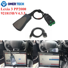 Best Price Diagbox 7.82 Lexia 3 Lexia3 PP2000 963830 C/ 4.3.3 for Citroen Peugeot Diagnostic Free Shipping Omer Tech