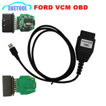 High Quality Automatic Super VCM IDS FoCOM Program MINI Version For FORD VCM OBD Cable Interface Live Data For Ford/Mazda