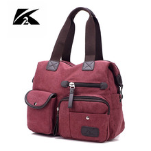 KVKY 2017 New Style Canvas Bag Women Handbags Messenger Bags Casual Shoulder Bags Designer Handbags Bolsa Feminina CH014