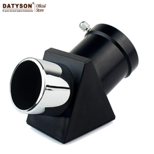 Datyson Zenith Diagonal Mirror / Diagonal Adapter 1.25'' 45-Degree Erecting Image Prism for Astronomical Telescope Eyepiece