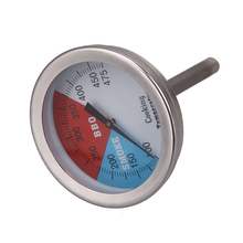 "2-2"" 475 RWB BBQ CHARCOAL GRILL WOOD SMOKER OVEN PIT TEMP GAUGE THERMOMETER Cooking Food Probe Temperature Instruments(China)"