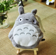 Kawaii 13CM Approx. TOTORO Plush Stuffed Toy as  Pouch , Plush Toy   Design Keychain String Plush Toy