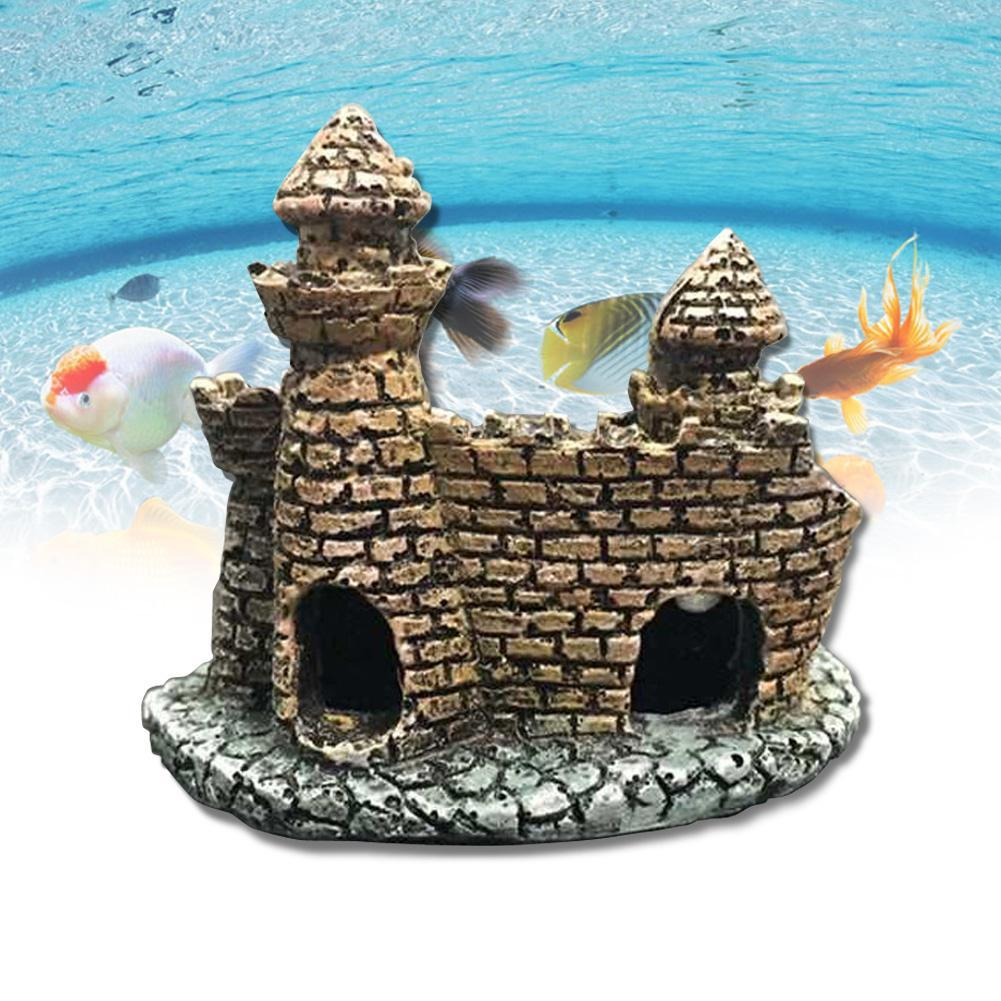 Fish tank castle