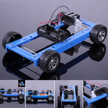 Two-wheel Drive Remote Control Car Assembled Toy Car(China)