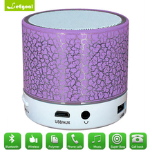 Leegoal Bass Stereo Multifunctional Mini portable Wireless Bluetooth Speaker Light Changing Pattern Player Wireless Speaker(China)