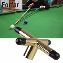 Forfar Game Snooker Cross Rest Tool Metal Head Screw Snooke Table Brackets Cue Holder Pool Brass Billiards Accessories(China)