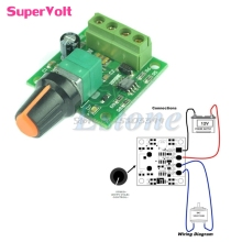 DC New 1.8V 3V 5V 6V 12V 2A Low Voltage Motor Speed Controller PWM 1803B #G205M# Best Quality
