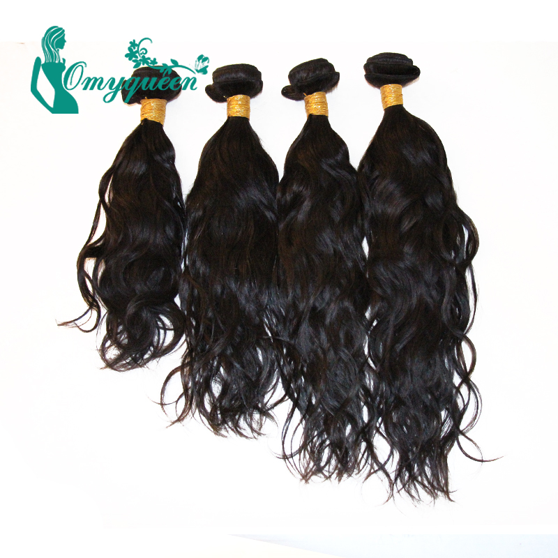 Rosa Hair Products Peruvian Virgin Hair Bundles 4pcs 6A Unprocessed Human Hair Weaves Peruvian Water wave Natural Black<br><br>Aliexpress