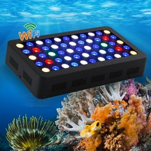165w wifi led aquarium light warehouse in China WIFI controller can handle with IOS/Android system best for tank coral(China)