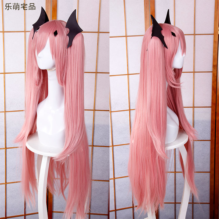 Anime Cosplay Wigs Seraph of the End Krul Tepes Rosa 100cm Wig Pink Long Hair