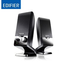 Edifier M1250 Multimedia speakers with 2.0 Speaker System and Auxiliary connections audio input(China)