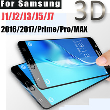Buy 3D Tempered Glass Samsung Galaxy J3 J1 J2 J5 J7 2016 2017 Pro Prime Screen protector J7 MAX glass film Full Screen Coverage for $1.50 in AliExpress store