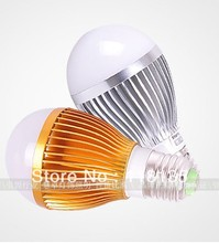 Bubble Ball Bulb E27 85V-265V 10W (5x2W) Energy Saving Warm White/Pure White/Cool White LED Bulbs Free Shipping(China)