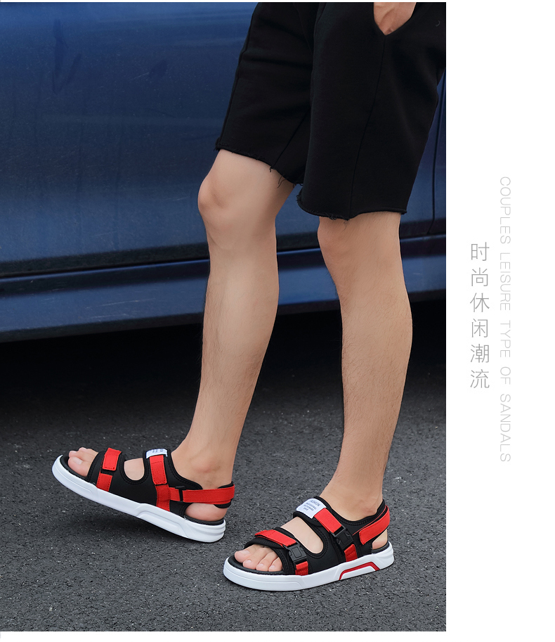 YRRFUOT Summer Big Size Fashion Men's Sandals Outdoor Hot Sale Trend Man Beach Shoes High Quality Non-slip Adult Flats Shoes 46 26 Online shopping Bangladesh