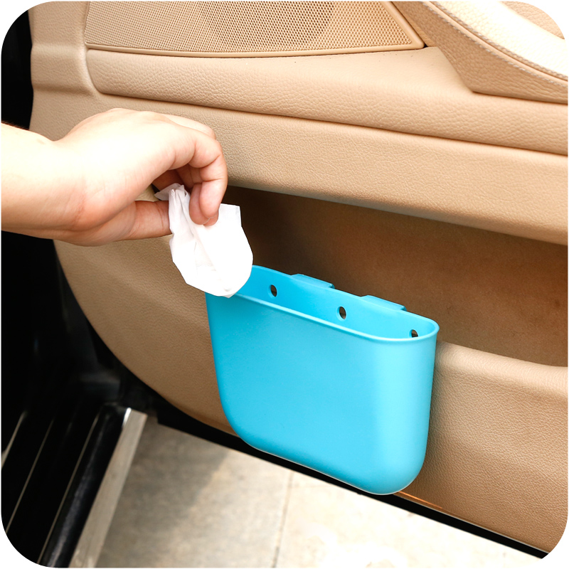 1PCS Creative Storage Bins Car Accessories For Multi-Purpose Vehicle Use Small Garbage Bags 99(China (Mainland))