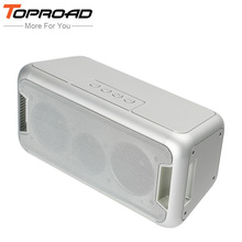 TOPROAD Super Bass LED Light Wireless Bluetooth Speaker Subwoofer Stereo HIFI Loudspeakers Portable Speakers for Phone Handsfree