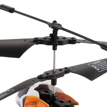 ABWE Best Sale S126 RC Helicopter + 10m IR Remote Control 2 Channel Orange(China)