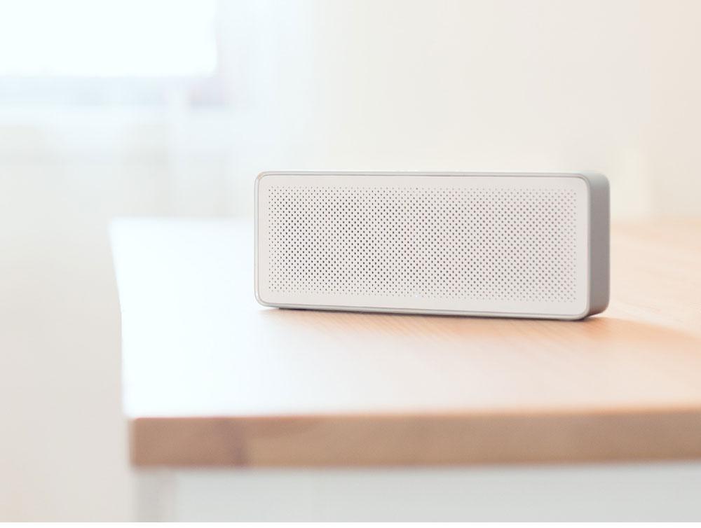 Original Xiaomi Mi Bluetooth Speaker 2 Square Box Stereo Portable Bluetooth 4.2 High Definition Sound Quality 10h Play Music AUX Port (7)