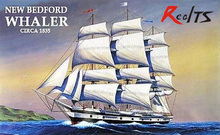 RealTS Academy 1/200 14204 New Bedford Whaler Circa 1835 Plastic Model Kit