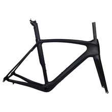 SmileTeam XR2 Road Carbon Bike Frame, OEM Painting Full Carbon Road Bike Frame ,Road Bicycle Carbon Frameset With Fork Seatpost