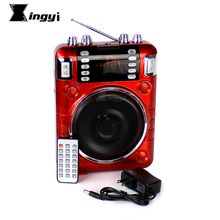 Red Portable Digital Wireless Radio FM Goose Decoy Duck Quail Hunting MP3 Player Bird Caller Speaker Birds Sound Call Equipment