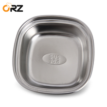 ORZ Condiment Soy Sauce Seasoning Plate Hot Pot Sushi Restaurant Fruit Dish Sauce Container Bowl Tableware Flavor Dish