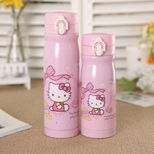 KT Hello Kitty 350ml/500ml Stainless Steel Vacuum Coffee Water Bottle