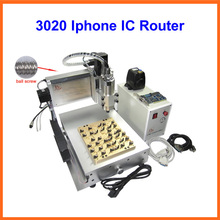 Iphone IC Router Grinder CNC 3020 800w Polishing Engraving Machine for iPhone Main Board IC repair