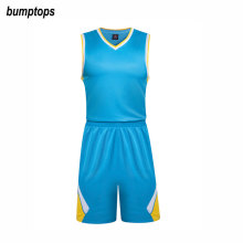 Newest Breathable Team Sportswear DIY Basketball Adult Men Jerseys Kits New Best Quality Outdoors Sports Training Uniform