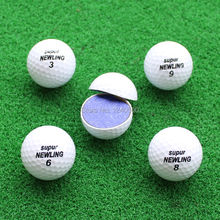 Golf Game Balls Three layers Golf Ball Golf Game Ball Super Long Distance Golf Ball 10pcs/lot  Free Shipping