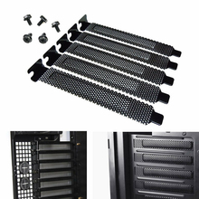 Slot-Cover Pc Case Blanking-Plate DUST-FILTER Desktop Expansion Hard-Steel PCI with Screws