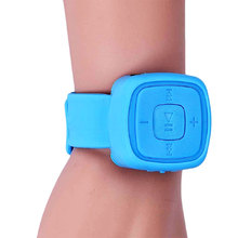 Mini Wrist MP3 Player Watches with TF Card Slot for MP3 Music Playing for Sports USB Flash Disk Mp3 Player Waterproof Watches