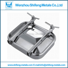 535x435mm Stainless steel rectangular side manway,square manhole cover