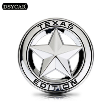 DSYCAR Metal Car sticker logo Emblem Badge Car Styling sticker For Jeep GrandCherokee Wrangler Compass Bmw Fiat Audi Toyota Lada(China)