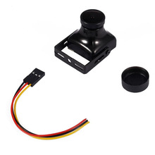 Black 1200TVL CMOS SUPER HAD II 2.8MM Lens 120 Angle PAL NTSC FPV Camera