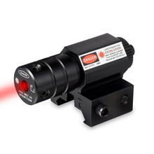 Buy Hunting Tactical Precise Red Dot Laser Sight Pistol Adjustable 11mm20mm Picatinny Rail 50-100 Meters Range 635-655nm Laser Sight for $14.13 in AliExpress store