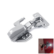 Auto ON OFF Universal LED Cabinet Inner Hinge Light 0.3W Night Light Battery Operated Cupboard LED Lamp Door Bulb Home Lighting
