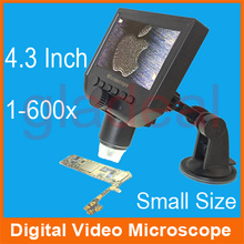 600x Mini Portable LCD Digital Video  Microscope for iPhone Samsung Logic board Motherboard PCB IC Chip Repair Fix
