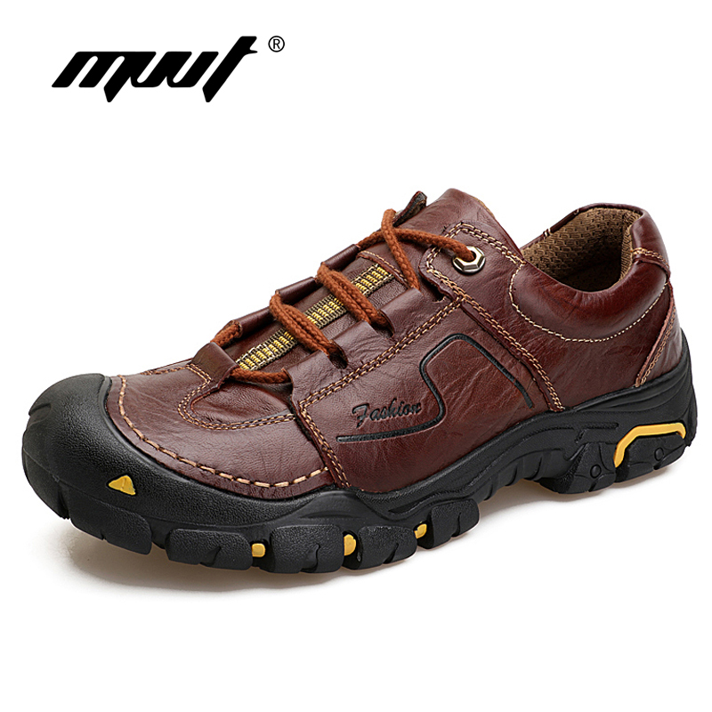 MVVT 2018 spring men casual shoes genuine leather men shoes quality lace up outdoor walking shoes sapato masculino <br>