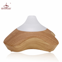 GX.Diffuser Led Hot Aroma Diffuser Ultrasonic Humidifier For Home Wood Air Purifier Aromatherapy Essential Oil Diffuser(China)