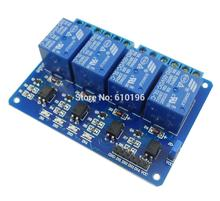 Buy 10PCS/LOT 4 Channel 5V Relay Module Control Board Shield Arduino Indicator Light Optocoupler for $36.50 in AliExpress store