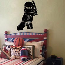 Ninjago Lego Vinyl Wall Decal Sticker Kids Boy Room Decor Children's Play Room Wall Decor Wall Stickers 2 Sizes